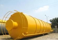 80吨水泥罐安装案例